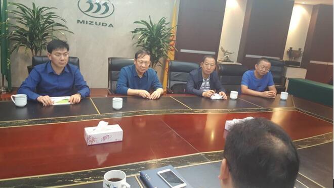 陆良县代表团赴湖州市外出招商