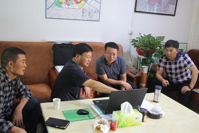 副县长刘国俊调研重点招商引资项目推进情况