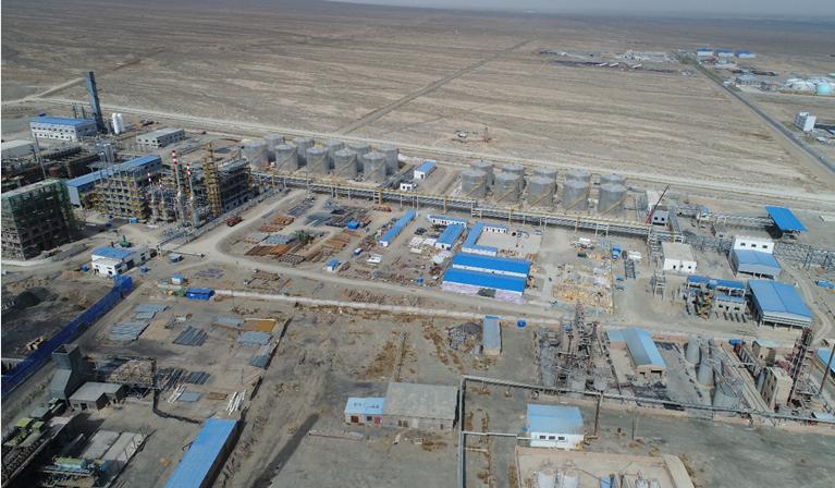 高台县煤化工产业